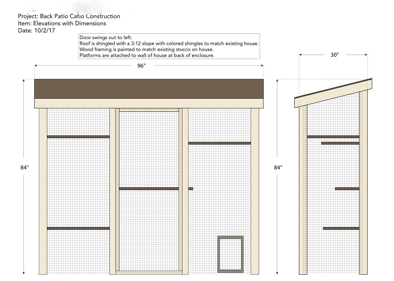 North Hills Catio Design