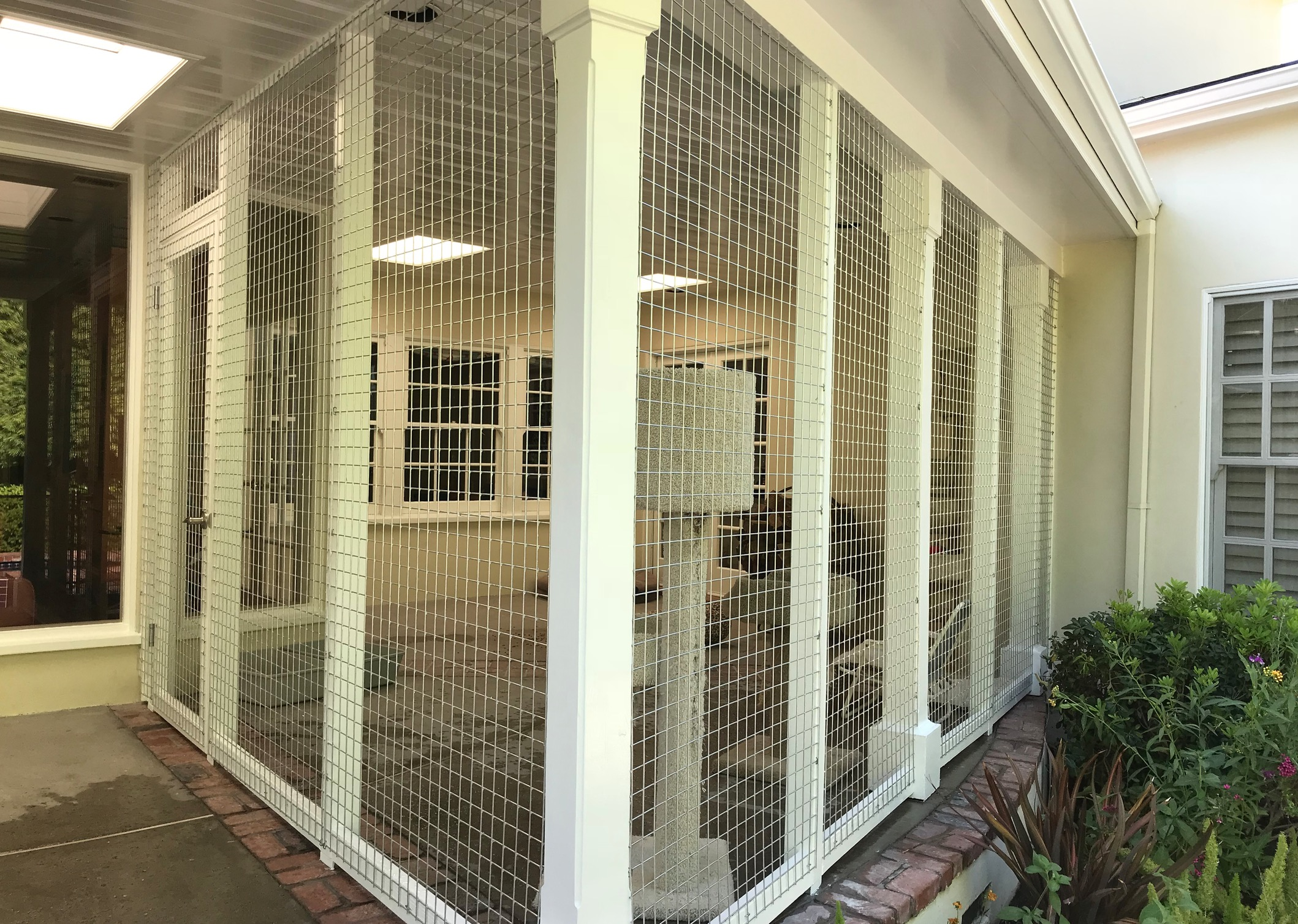 Toluca Lake Catio Left and Right Side