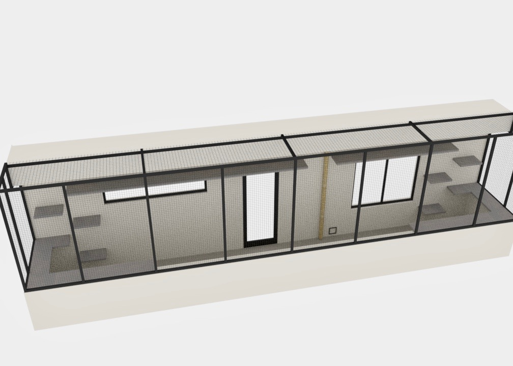 Melrose Catio Design Rendering Outside