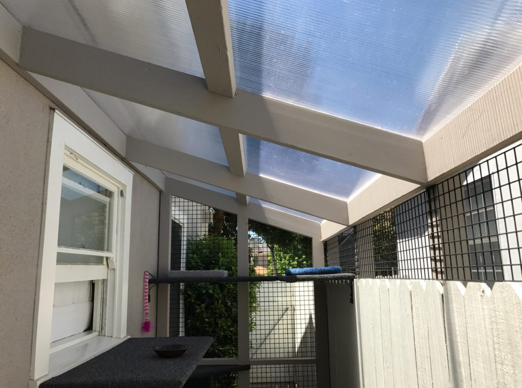Palisades Catio Polygal Roof
