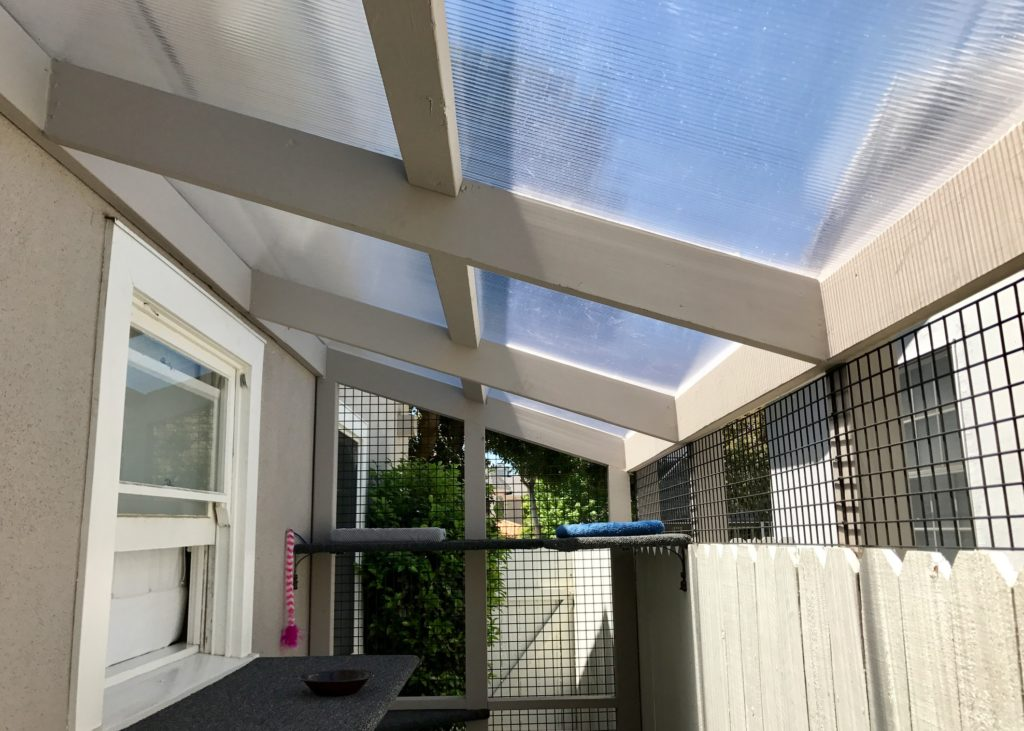 Palisade Polygal Catio Roof