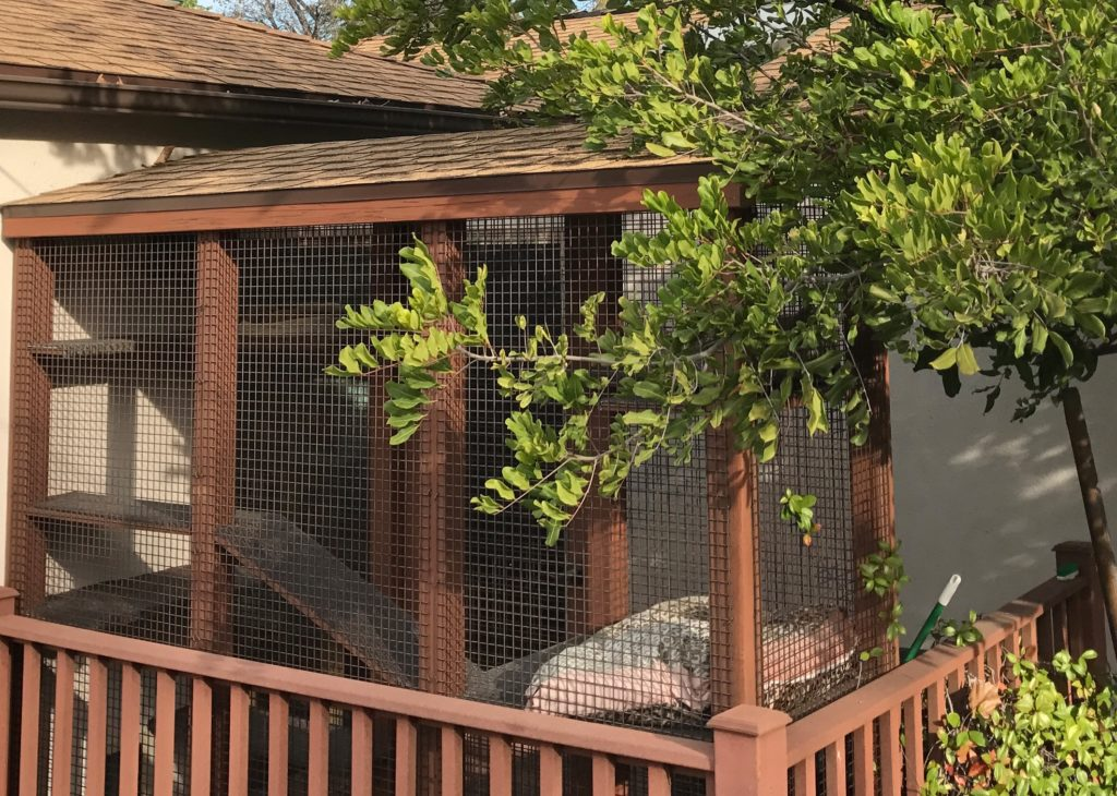 Sherman Oaks Catio Shingle Roof