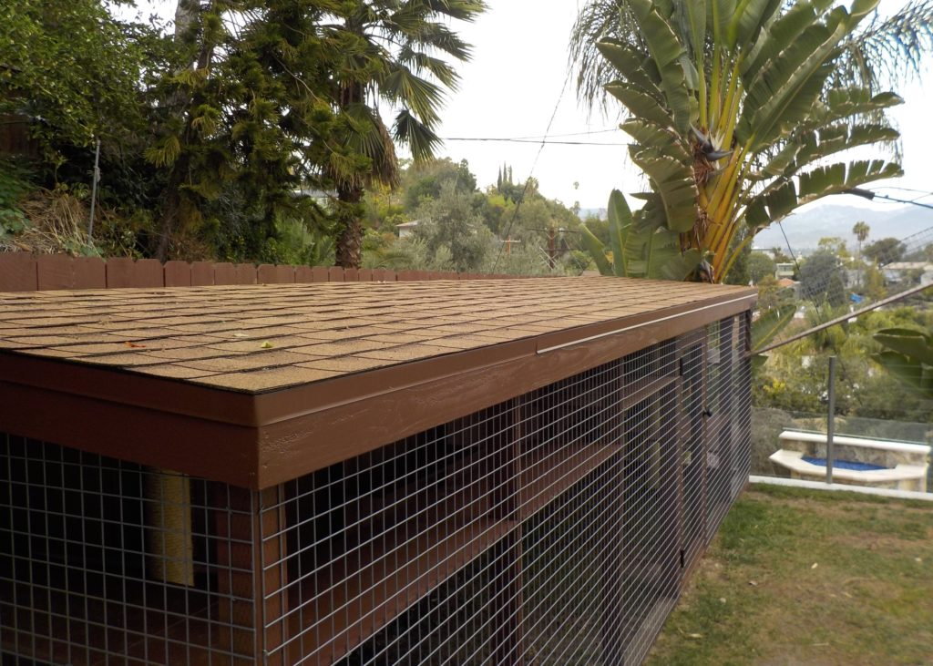 Silver Lake Catio Shingle Roof
