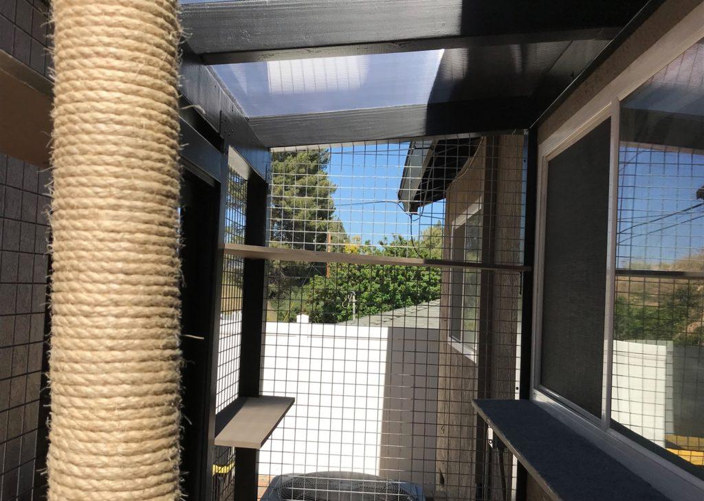 Thousand Oaks Catio Polygal Roof