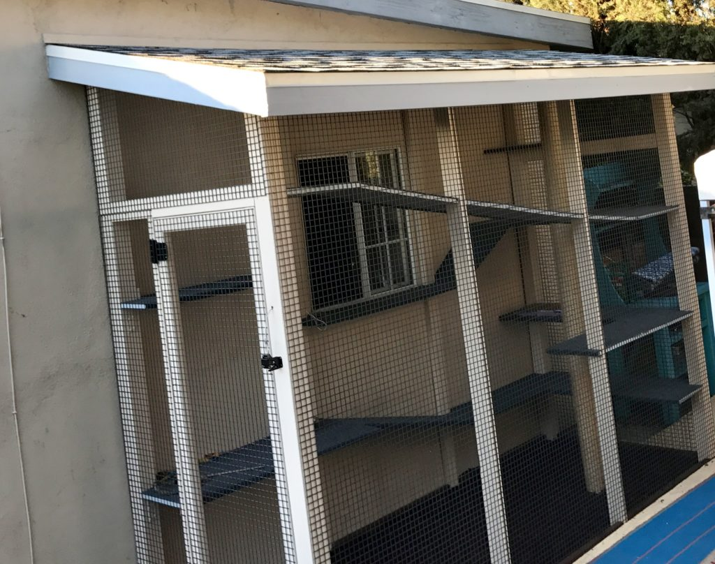 Van Nuys Catio Shingle Roof