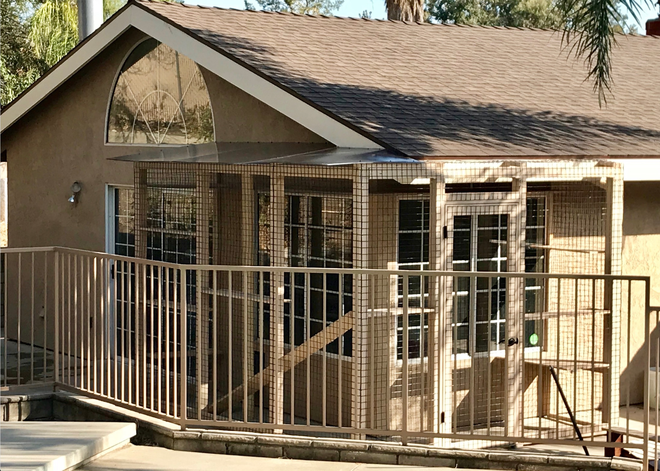 San Dimas Cat Enclosure Catio