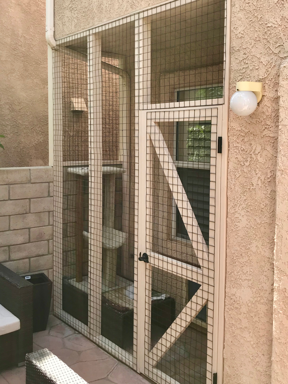 Simi Valley Catio Cat Enclosure