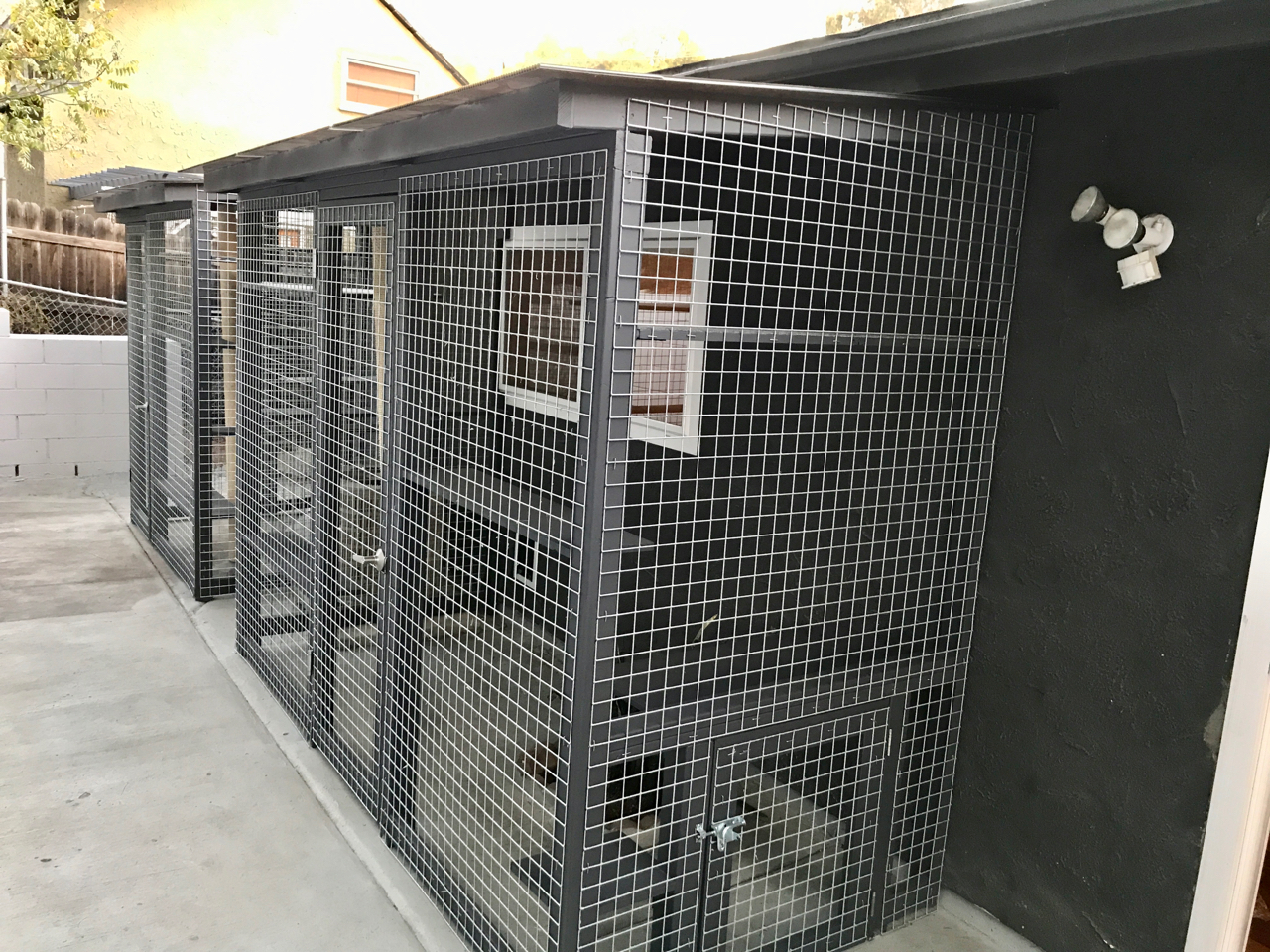Mount Washington Catio Cat Enclosures Side
