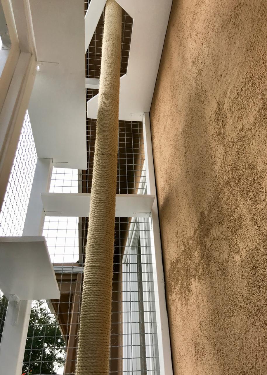 Studio City Catio Cat Enclosure Inside
